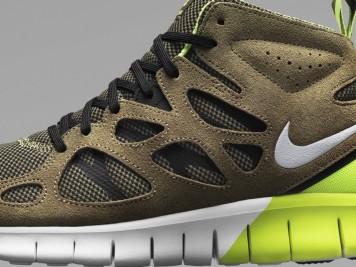 Nike Free Run 2 SneakerBoot detail