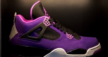 Air Jordan 4 Purple violet