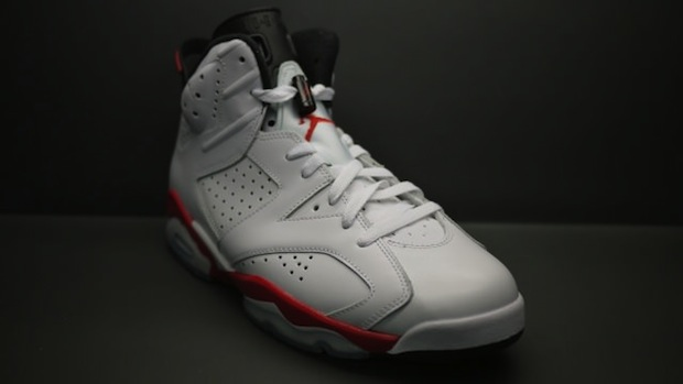 Air Jordan VI 6 White Infrared - photo