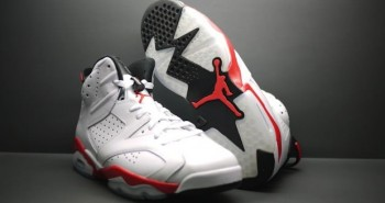 Air Jordan VI 6 White Infrared look 2014