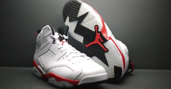 Air Jordan VI 6 White Infrared look 2014