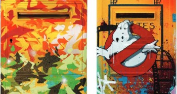 Boite aux lettres Street Art