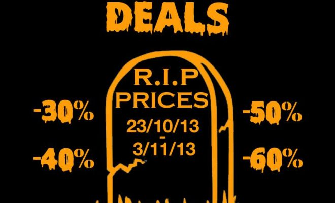 Halloween Deals chez Blackrainbow Paris