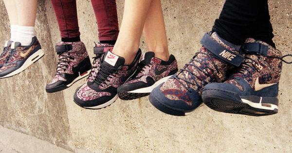Lookbook Nike X Liberty Of London