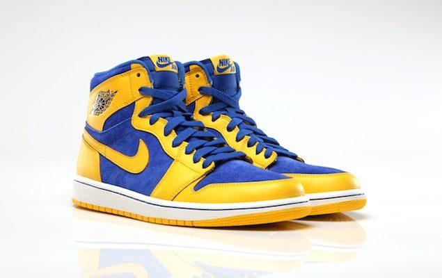 air jordan bleu et jaune