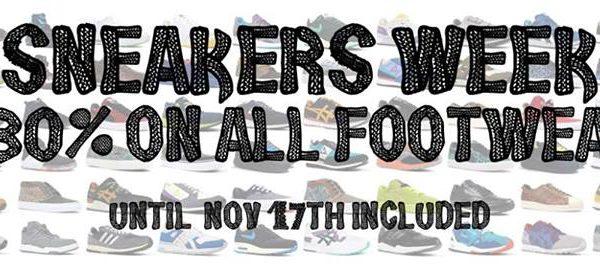 BlackRainbow Sneakers Week