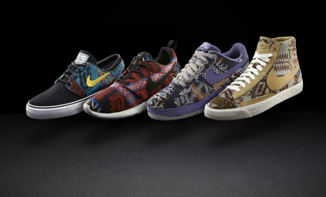 NIKEiD What The Pendleton Collection Le Site de la Sneaker