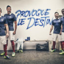 Nike nouveau maillot de l'équipe de france 2014 provoque le destin
