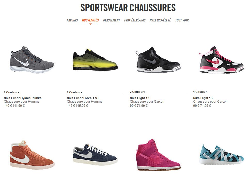 Nikestore-destockage