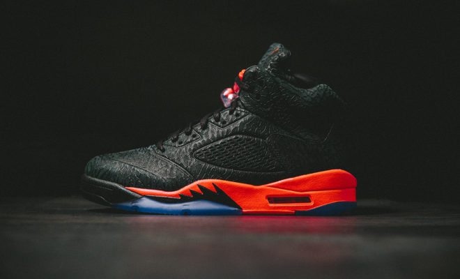 Air Jordan 5 3LAB5 Black Infrared