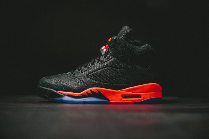 Air Jordan 5 3LAB5 Black Infrared