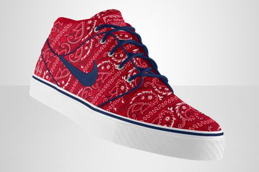 Basket NIKEiD SB Zoom Stefan Janoski option paisley