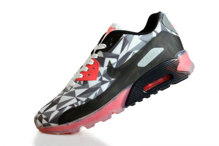Basket Nike Air Max 90 ICE Grey-Black-Infrared