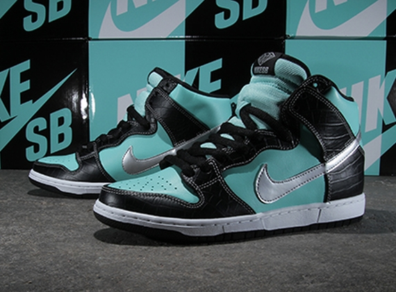Nike SB Dunk High Tiffany X Diamond