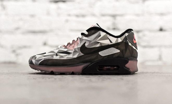 Nike Air Max 90 ICE Grey-Black-Infrared
