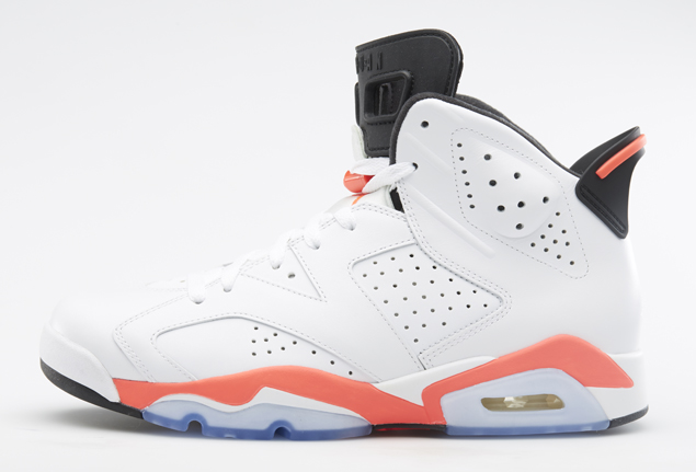 Air Jordan VI white/Infrared (Bulls)