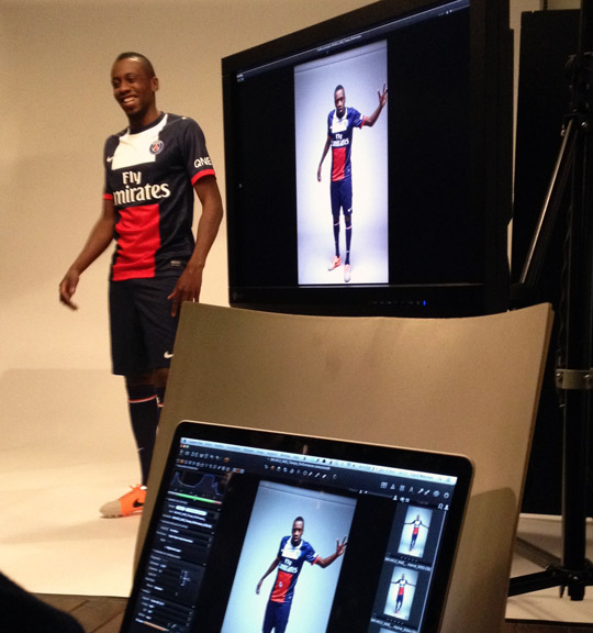 Blaise Matuidi- Shooting Photo Nike Tiempo