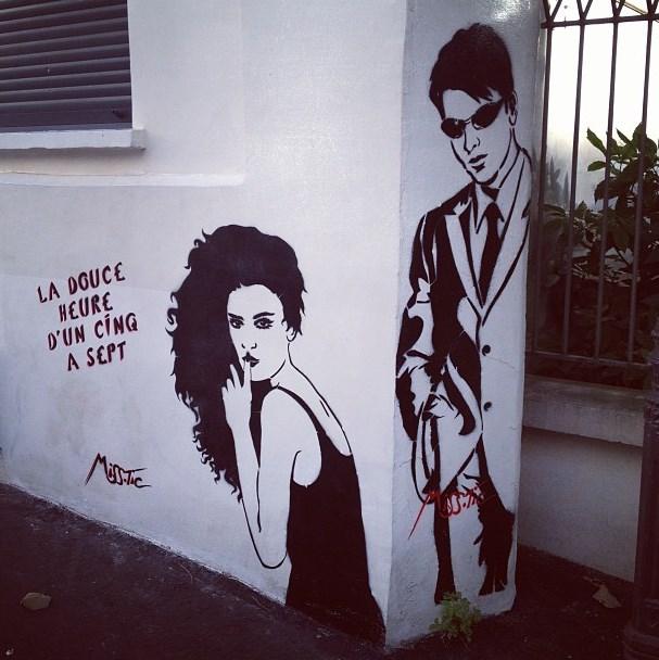 Miss-Tic la douce heure dun cinq a sept street art butte aux cailles