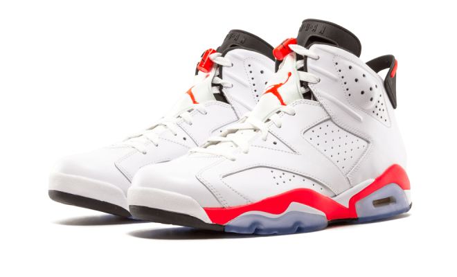 Air Jordan 6 White Infrared 384664-123