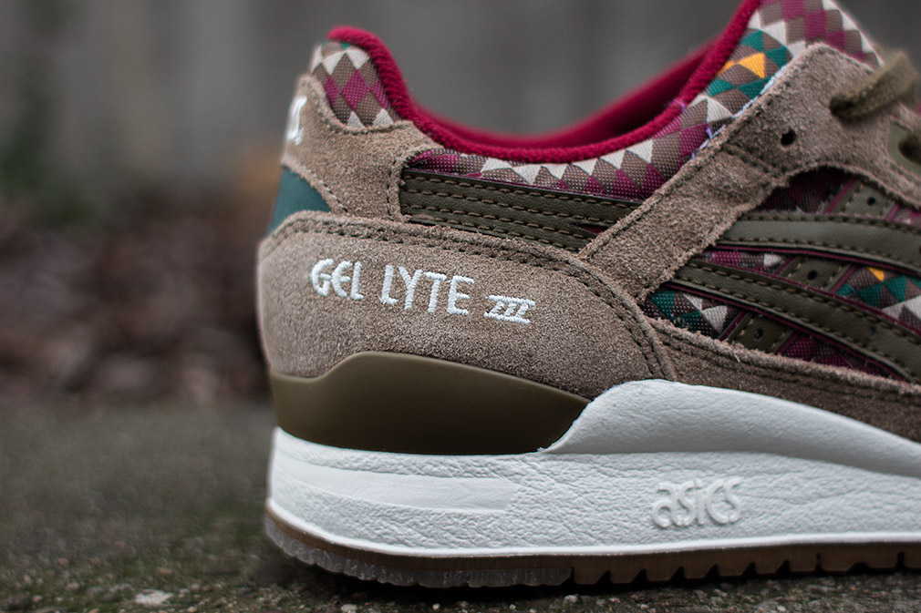 Asics Gel Lyte 3 Aztec look