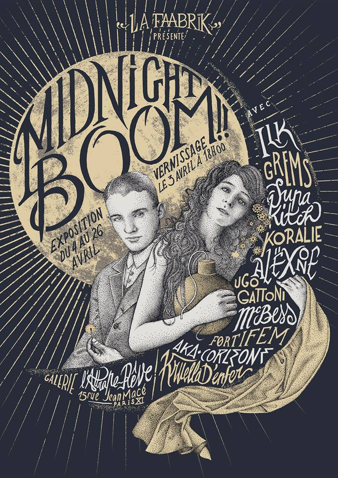 MIDNIGHT BOOM - ILLUSTRATION PAR Fortifem
