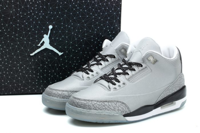 Air Jordan 3 5Lab3 Metallic Silver