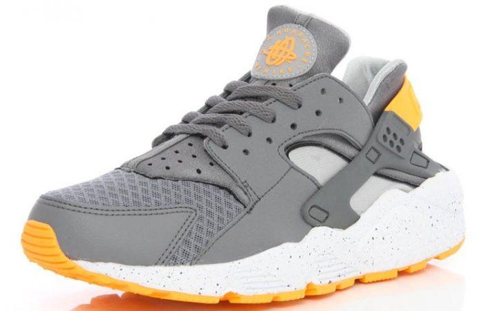 Nike Air HuaracheCool Grey Atomic Mango