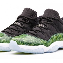 Air Jordan 11 retro Night Shade Green Snake