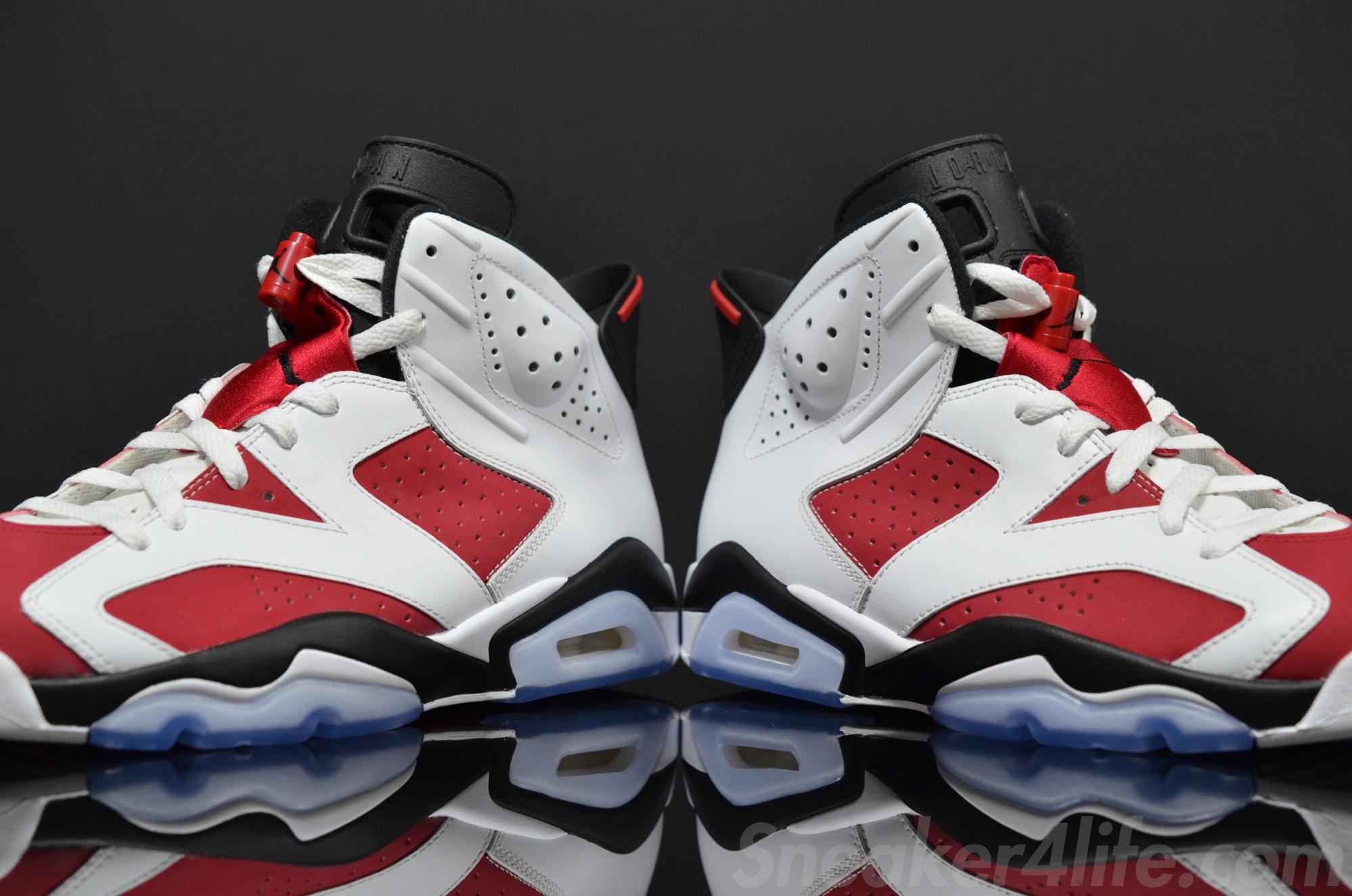 Air Jordan 6 Carmine 2014 384664-160