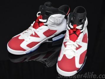 Air Jordan 6 Carmine 384664-160