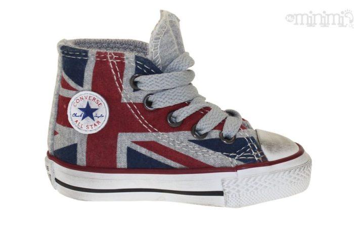 Basket All Star Bebe enfant drapeau anglais