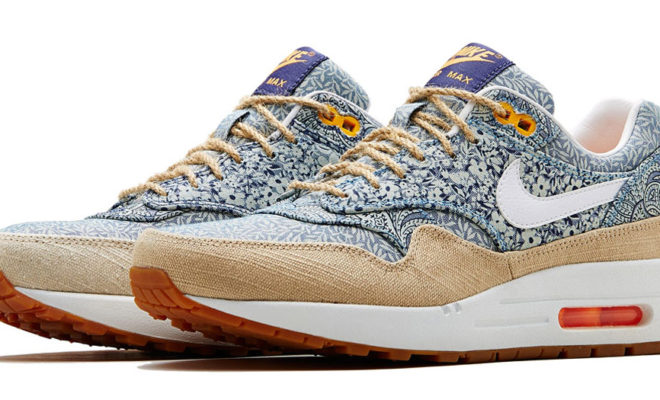 Air Max 1 Liberty London Collection Nike X Liberty été 2014