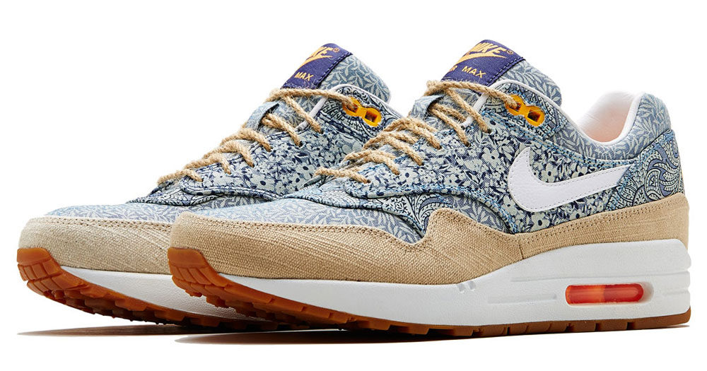 Été London Max 1 2014 Collection Liberty X Nike Air xZnW7x