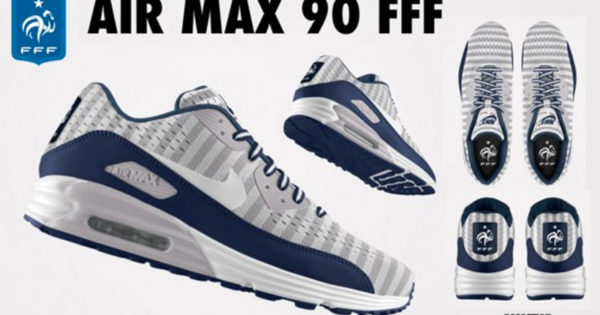 Nike Air Max 90 FFF Equipe de France de Football