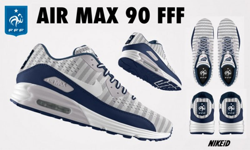 Basket Nike Air Max 90 FFF Equipe de France de Football
