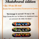 Exposition street art skateboard edition