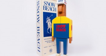 Grotesk X Case Studyo Snow Beach Figurine
