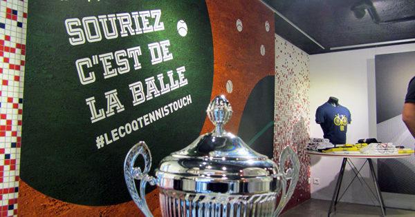 Le Coq Tennis Touch Paris