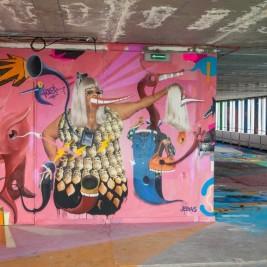 9e Concept Tour Pleyel Street Art a Saint Denis