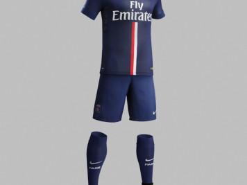 Home Kit Nike PSG season2014-15