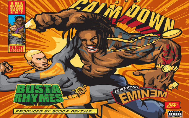 Calm Down - Busta Rhymes feat Eminem 2014