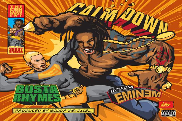 Calm Down - Busta Rhymes feat Eminem 2014