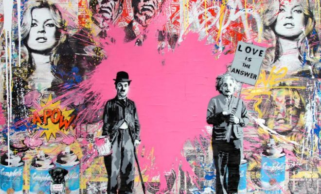Mr Brainwash Love is the answer 2014