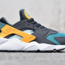 Nike-Air-Huarache-teal-orange