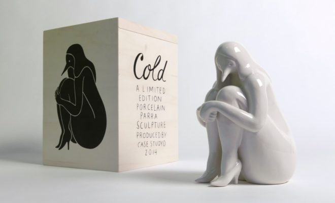 Parra X Case Studyo sculpture Cold white