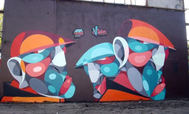 AlberOne Street art