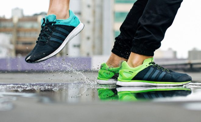 Chaussure Adidas Adizero Feather Primeknit