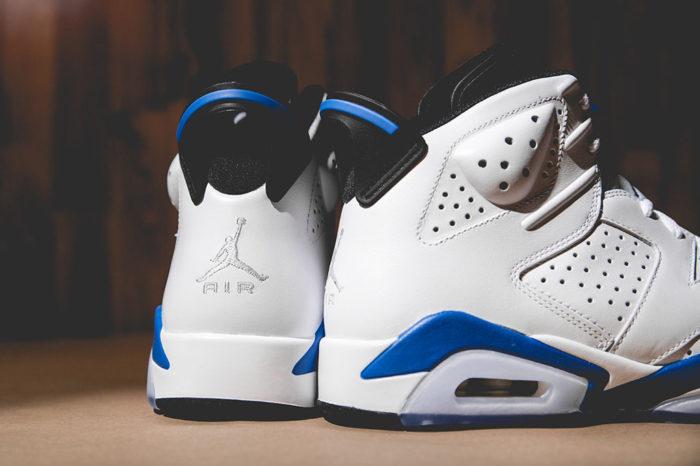 Air Jordan VI 6 Sport Blue