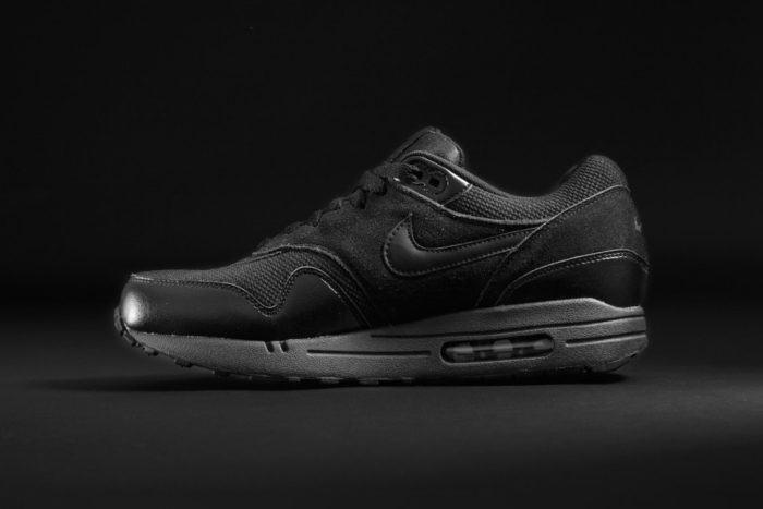 Nike Air Max 1 Triple Black exclusivité Foot Locker