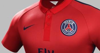 3e Maillot du Paris Saint-Germain - couleur rouge